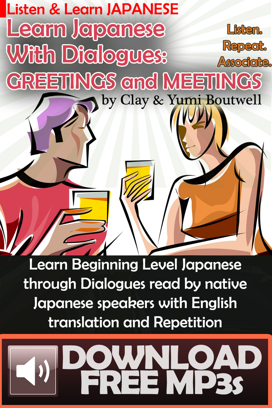 Learn Japanese with Dialogues: Greetings and Meetings