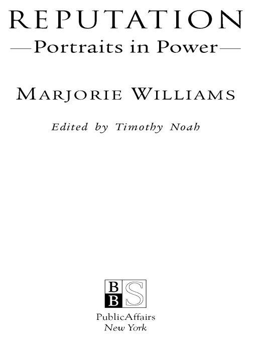 Reputation: Portraits in Power