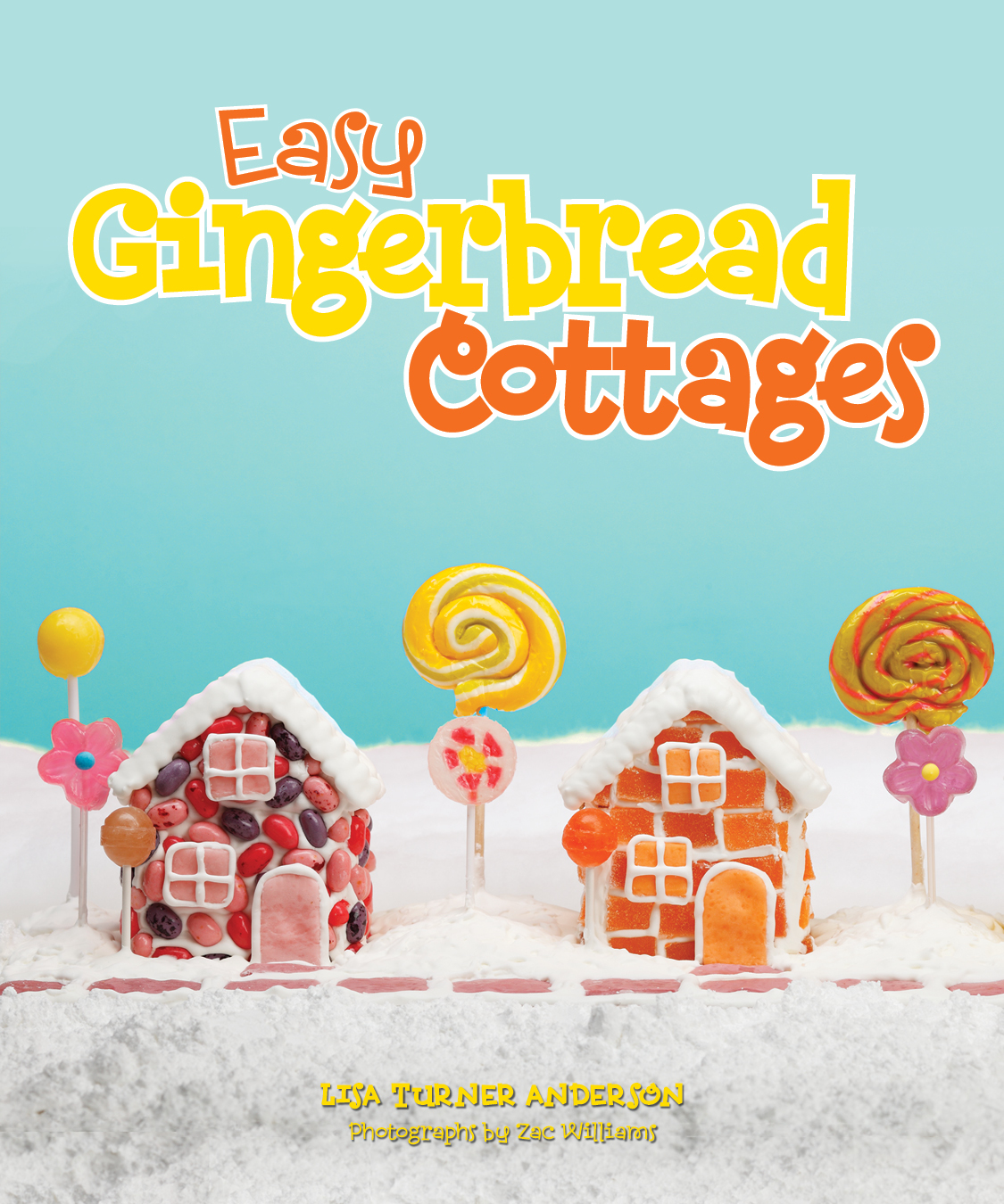 Easy Gingerbread Cottages