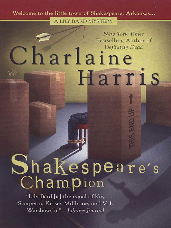Shakespeare's Champion By: Charlaine Harris