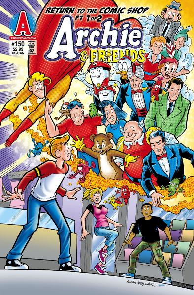 Archie & Friends #150 By: SCRIPT: Fernando Ruiz ART: Bill Galvan, Jack Morelli, and Various Cover: Fernando Ruiz, Rich Koslowski, and Tito Pena