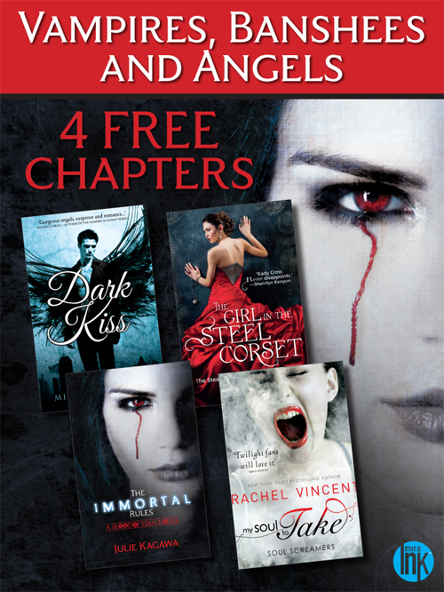 Vampires,  Banshees and Angels ? 4 FREE Paranormal reads to sink your teeth into