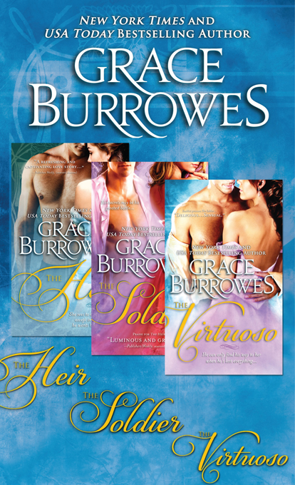 Duke's Obsession Bundle: The Heir, The Soldier, and The Virtuoso by Grace Burrowes