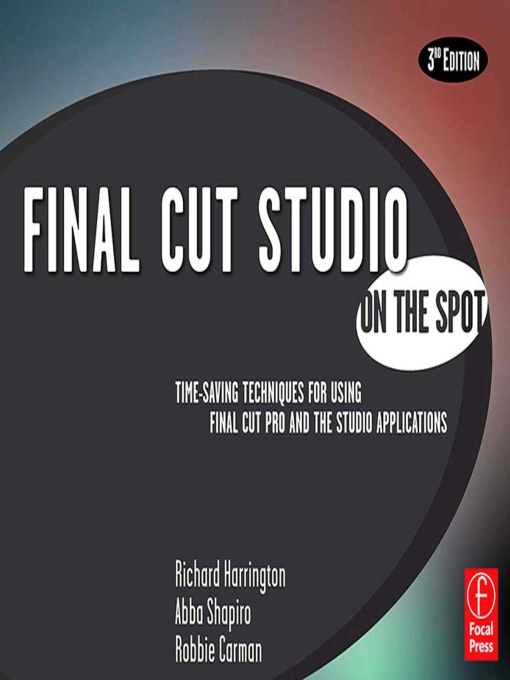 Final Cut Studio On the Spot