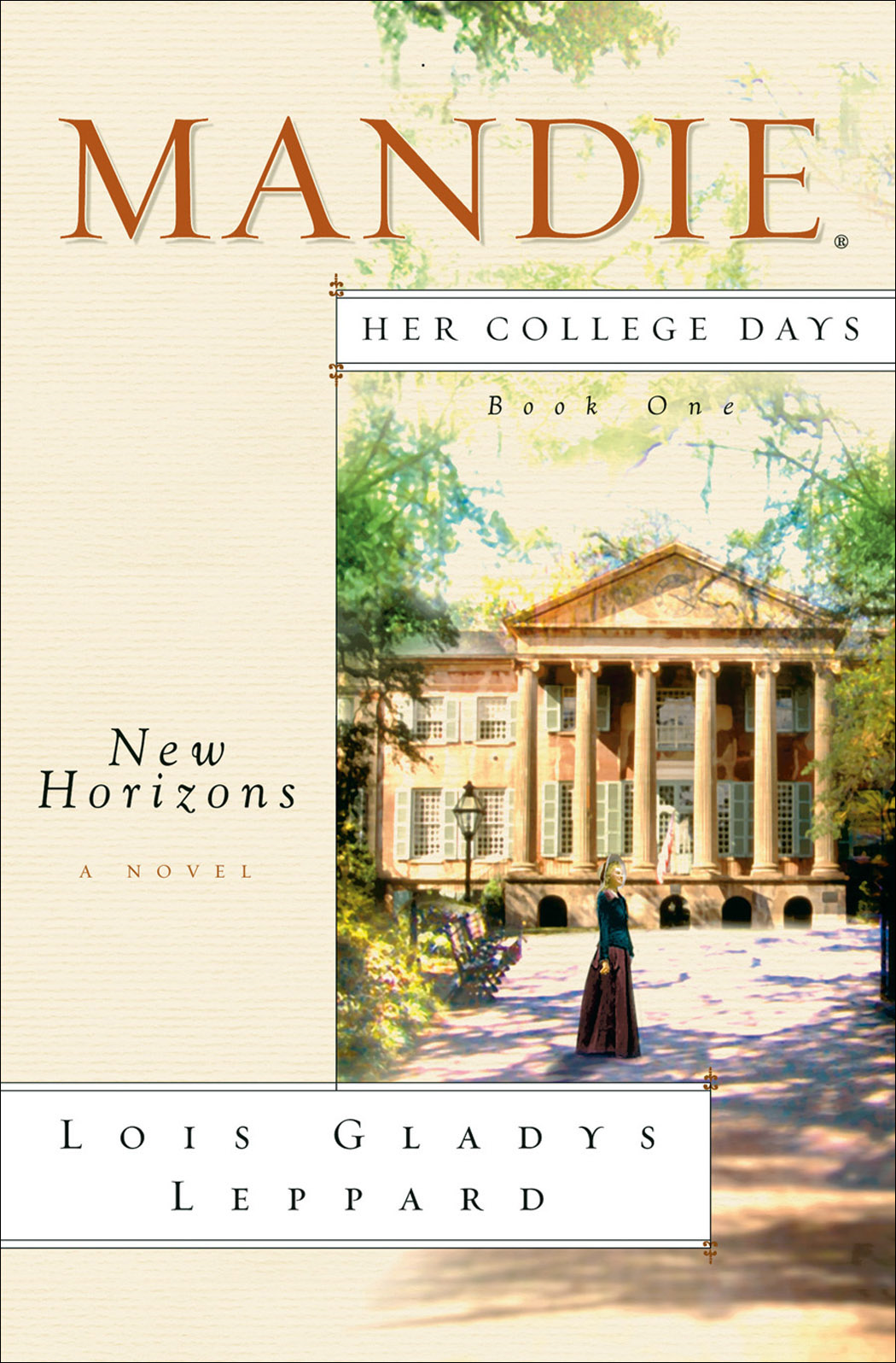 New Horizons (Mandie: Her College Days Book #1)