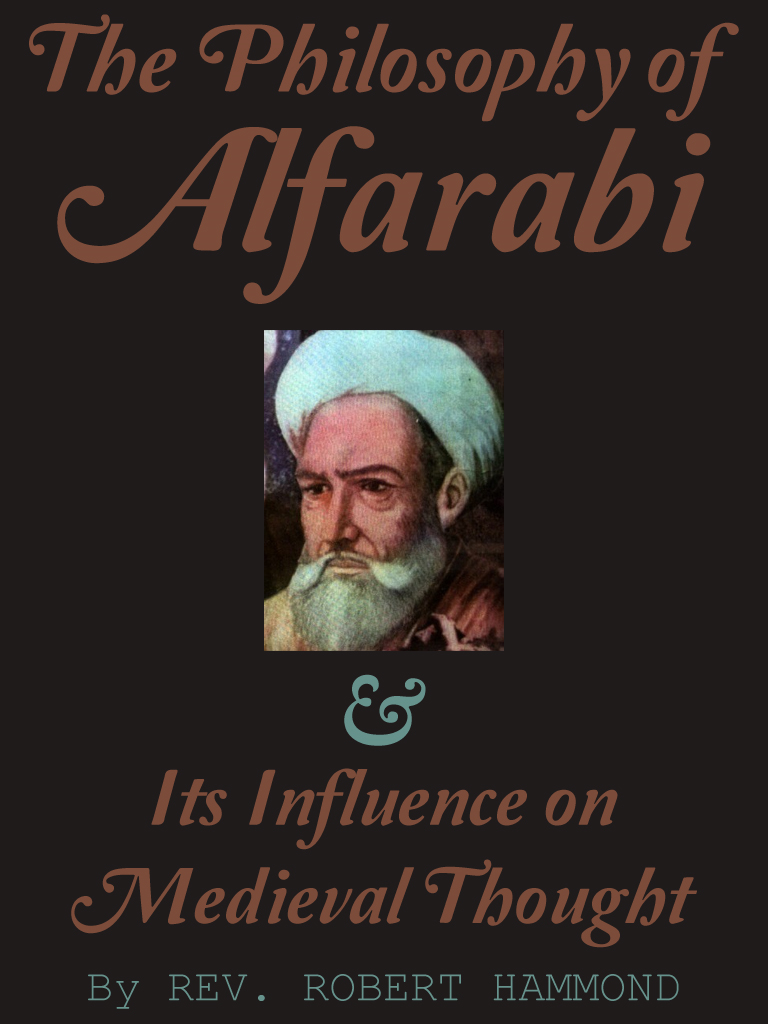 The Philosophy of Alfarabi
