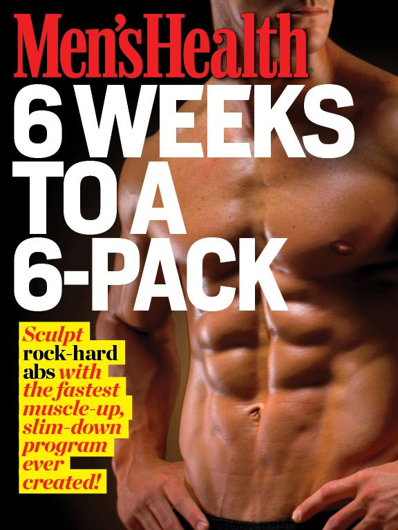 Men's Health: 6 Weeks to a 6-Pack By: The Editors of Men's Health,Jeff Csatari