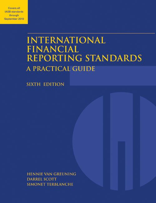 International Financial Reporting Standards: A Practical Guide