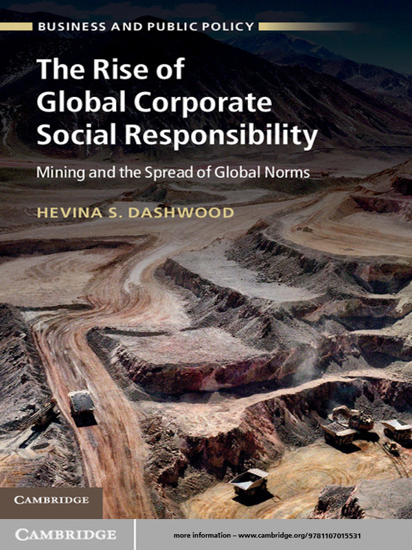 The Rise of Global Corporate Social Responsibility Mining and the Spread of Global Norms
