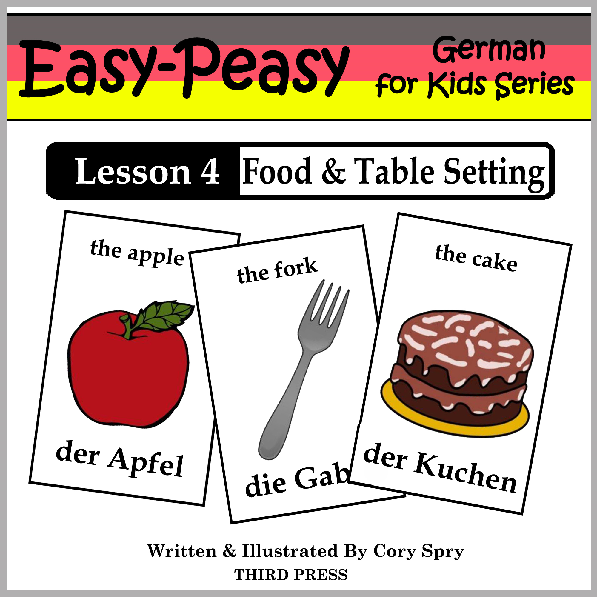 German Lesson 4: Food & Table Setting