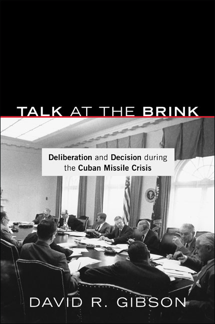 Talk at the Brink By: David R. Gibson