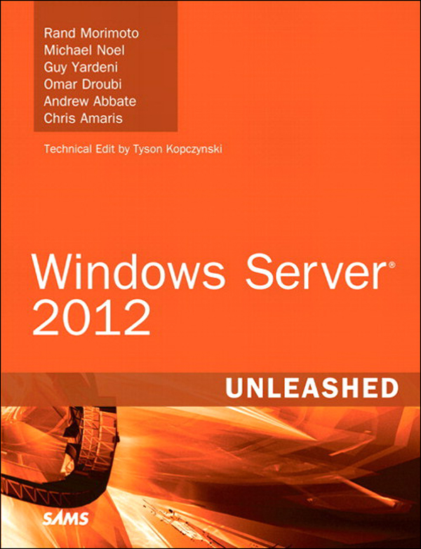 Picture of Windows Server 2012 Unleashed