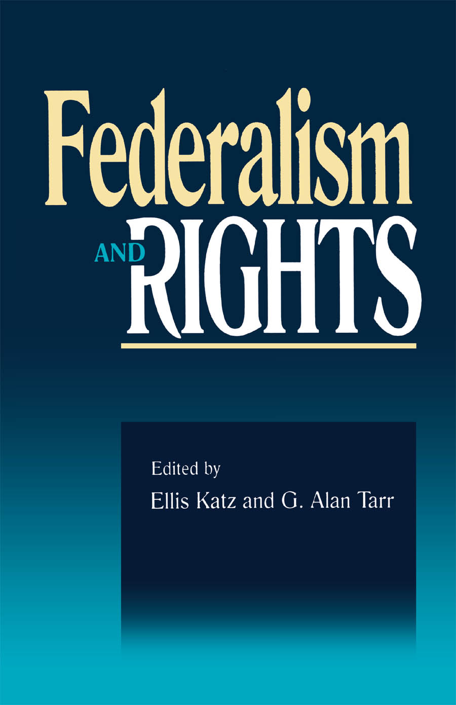 Federalism and Rights