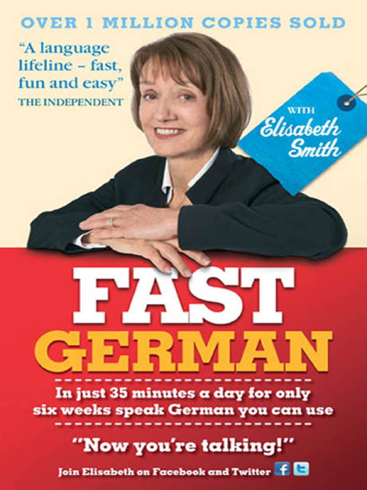 Fast German with Elisabeth Smith Ebook