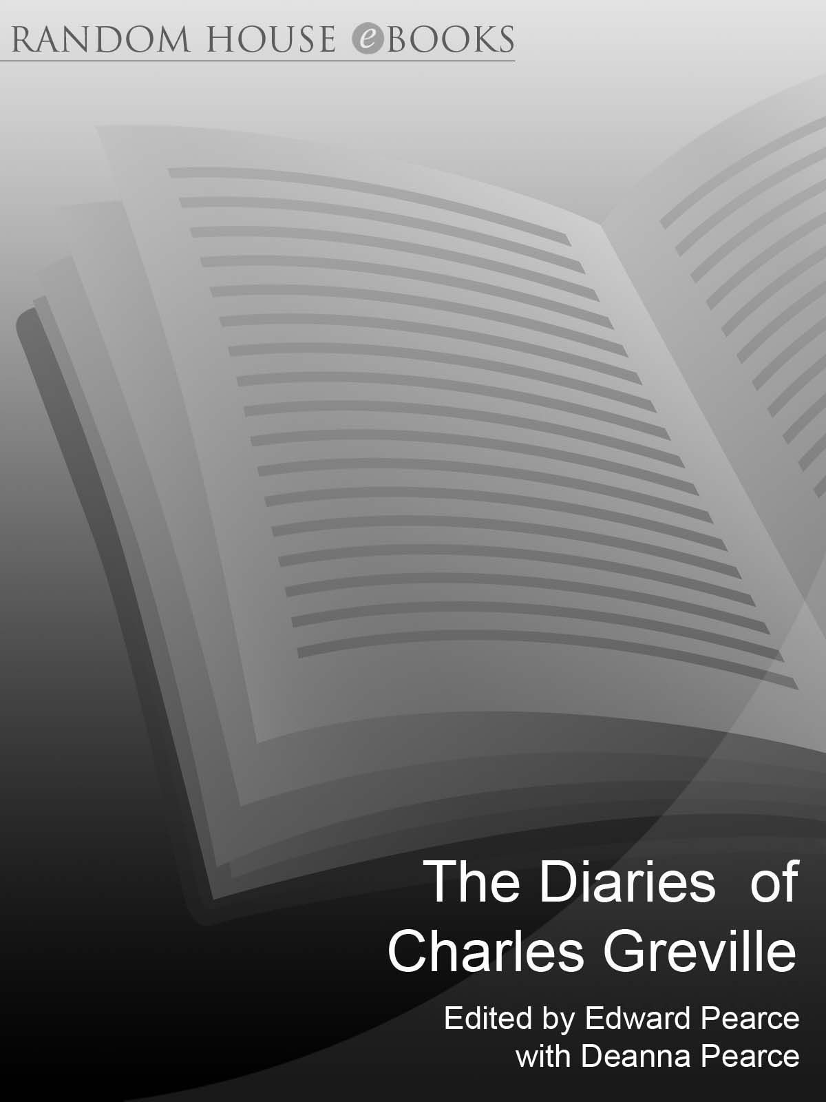 The Diaries Of Charles Greville