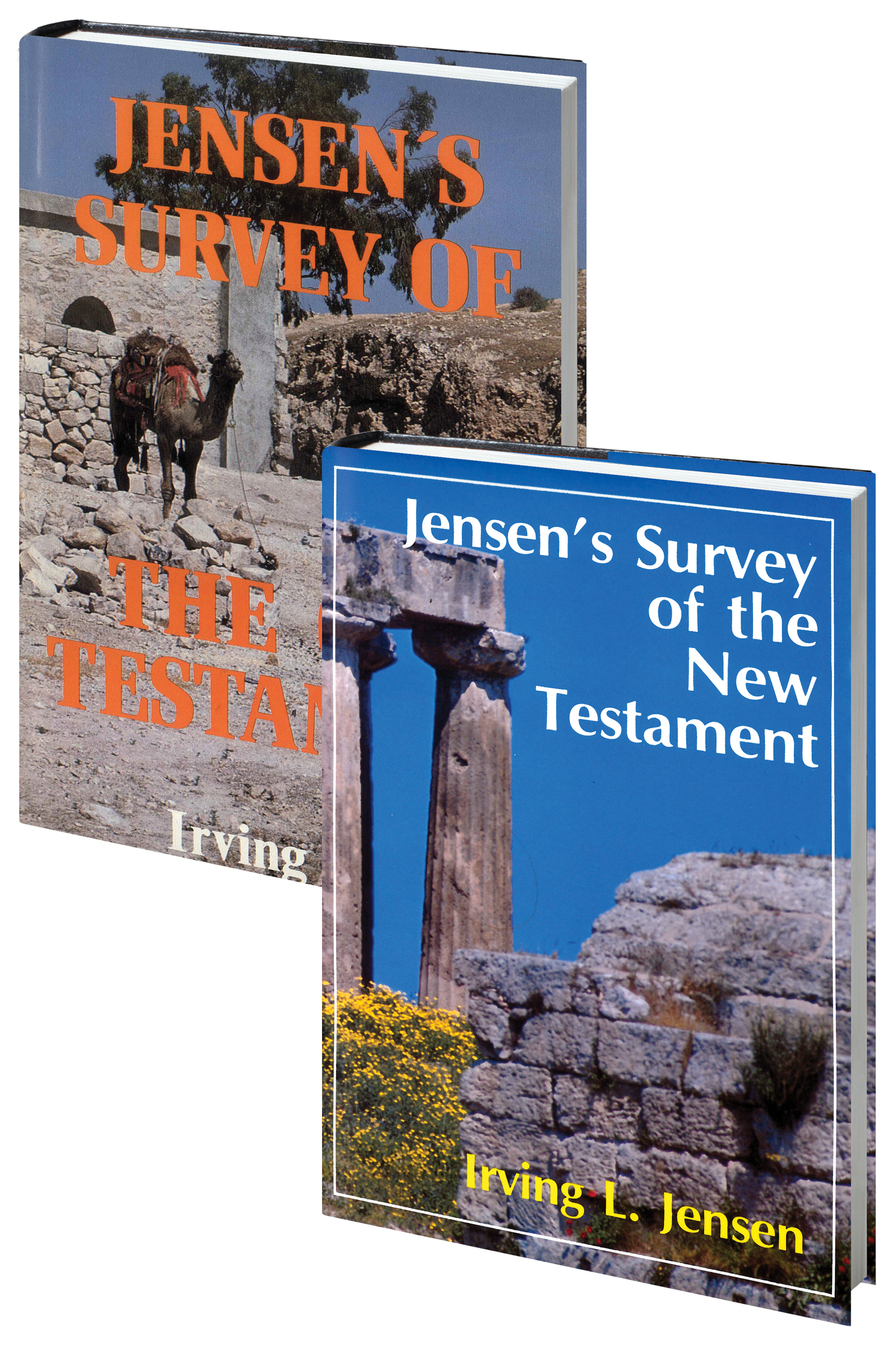 Jensen Survey-2 Volume Set-Old and New Testaments By: Irving L. Jensen
