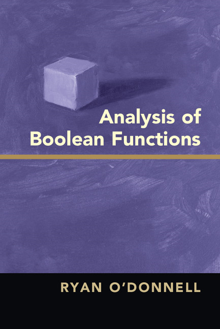 Analysis of Boolean Functions