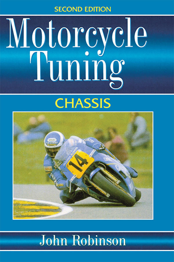 Motorcyle Tuning: Chassis Chassis