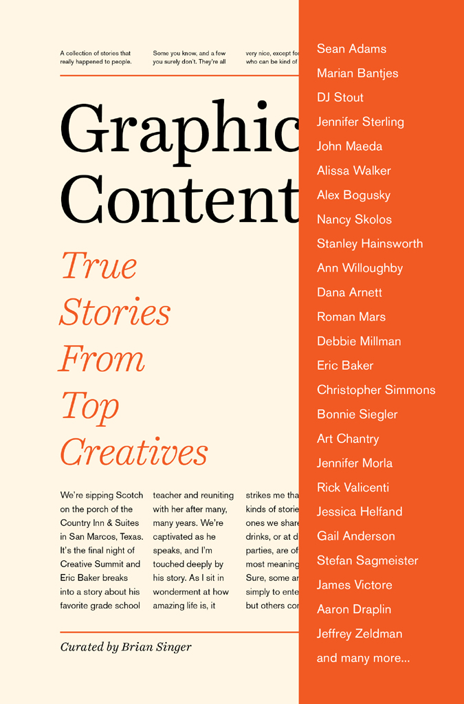 Graphic Content True Stories from Top Creatives