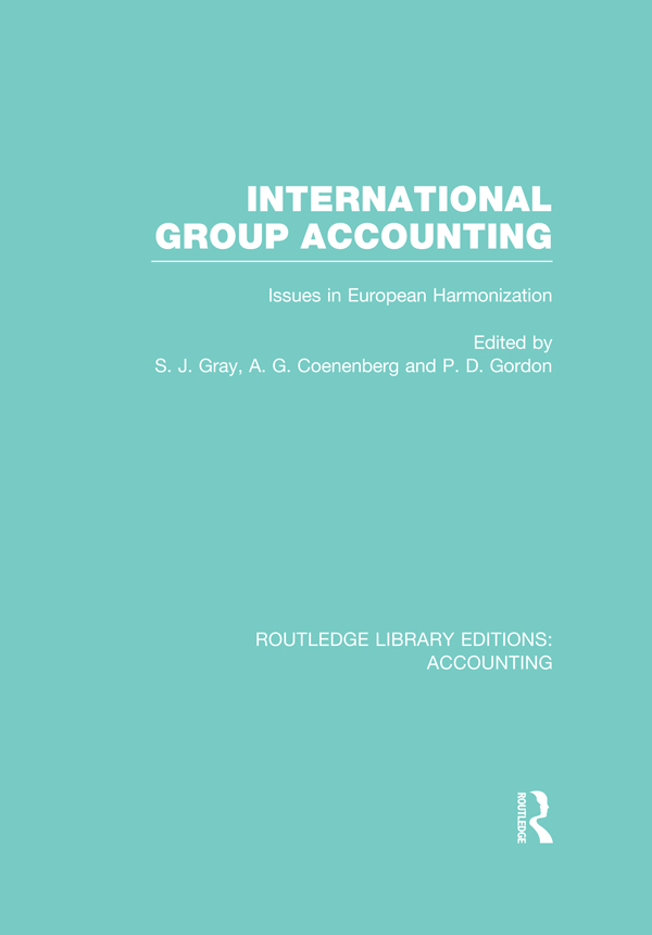 International Group Accounting Issues in European Harmonization