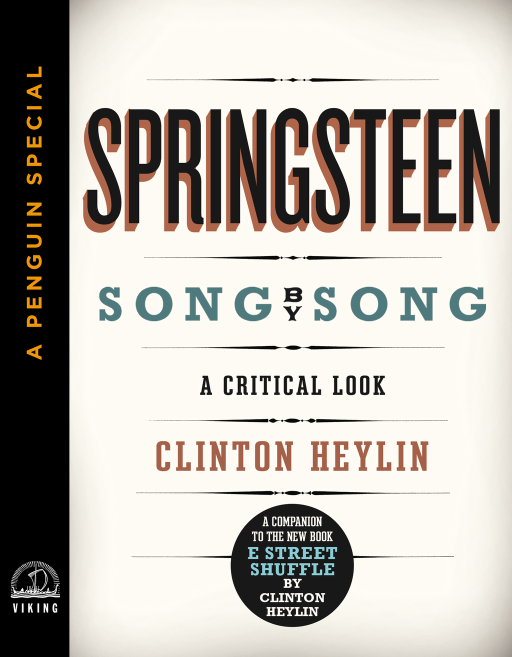 Springsteen Song by Song By: Clinton Heylin