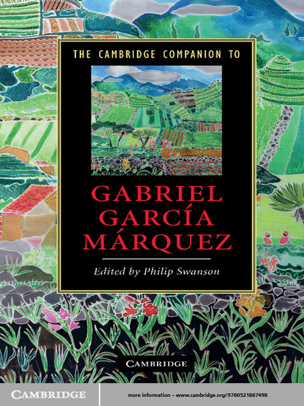 The Cambridge Companion to Gabriel Garc�a M�rquez