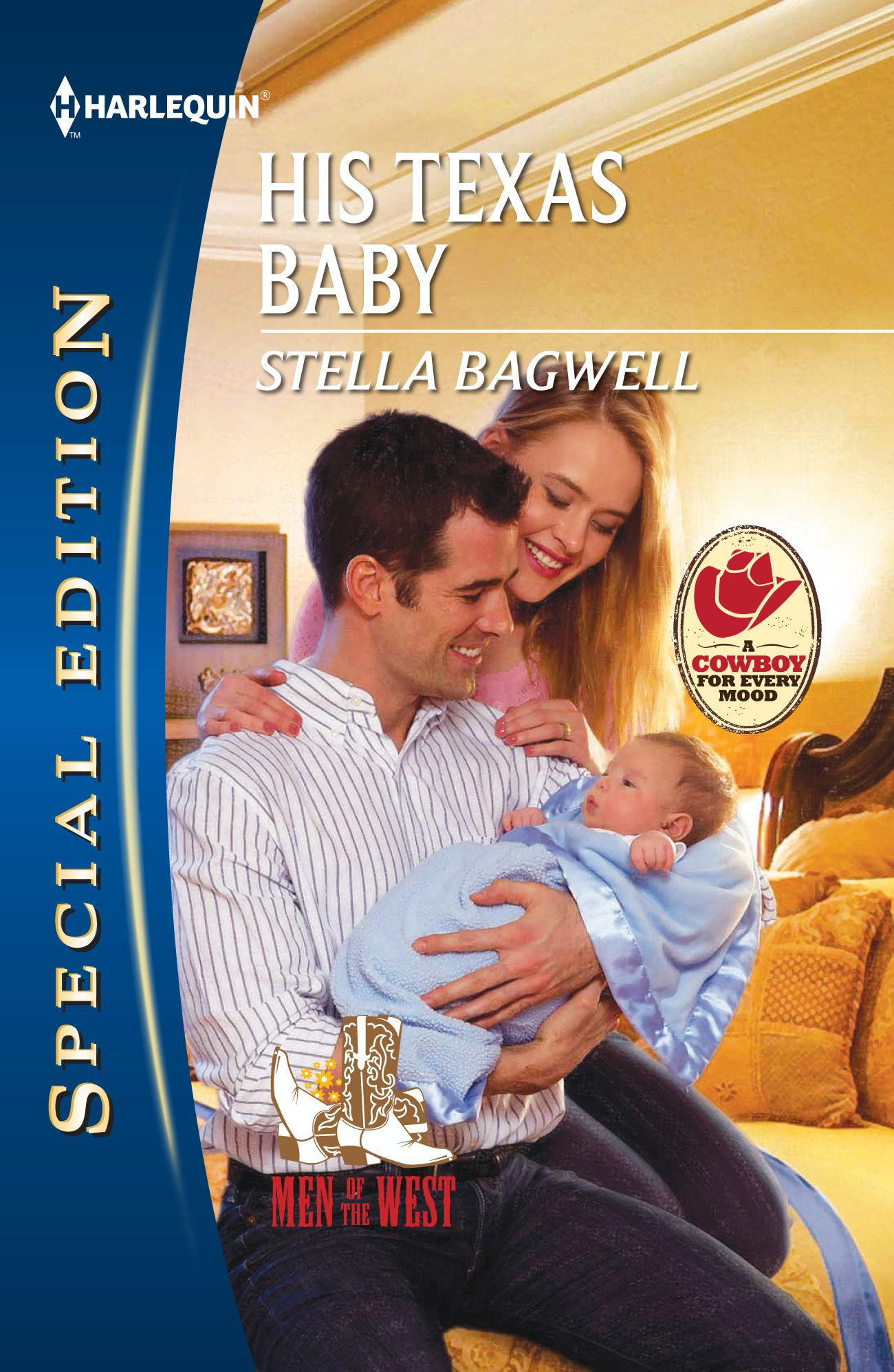 His Texas Baby By: Stella Bagwell