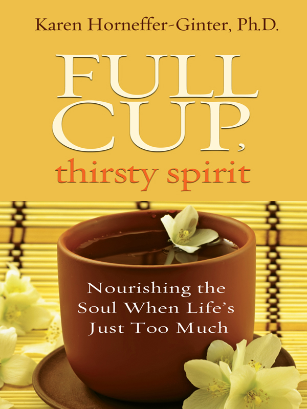 full cup, thirsty spirit