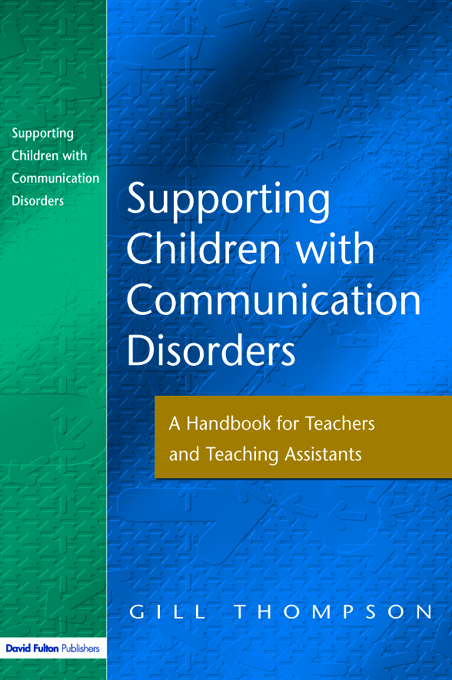 Supporting Communication Disorders