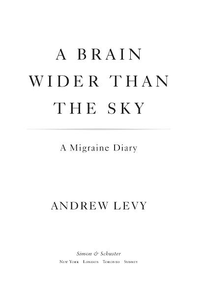 A Brain Wider Than the Sky By: Andrew Levy