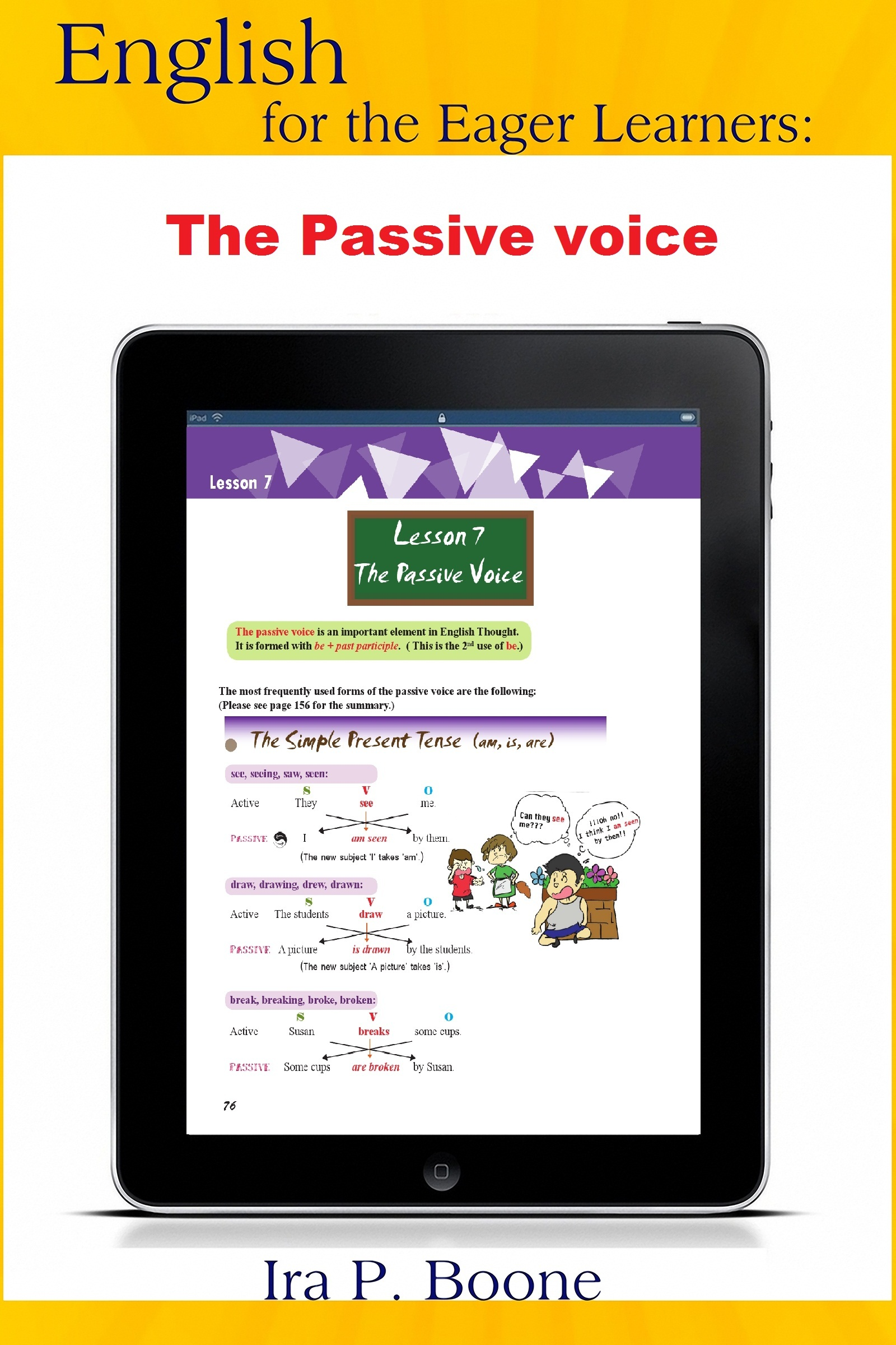 English for the Eager Learners: The Passive voice