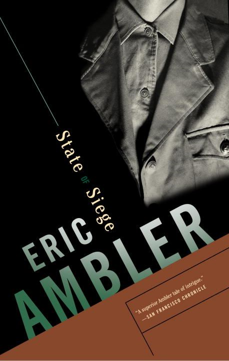 State of Siege By: Eric Ambler