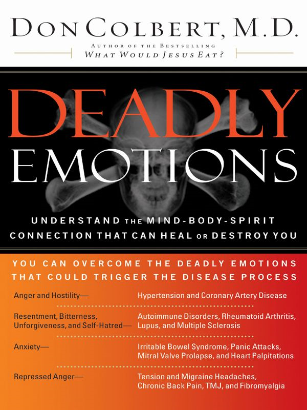 Deadly Emotions By: Don Colbert