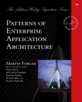 Patterns of Enterprise Application Architecture By: Martin Fowler