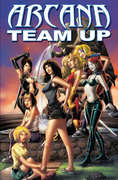Arcana Team Up By: Various