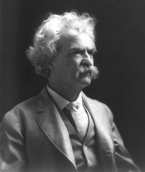 Mark Twain: travel books and memoirs, 6 books in a single file