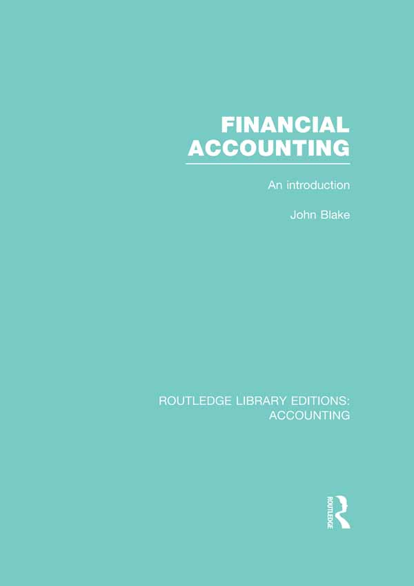 Financial accounting : an introduction An Introduction