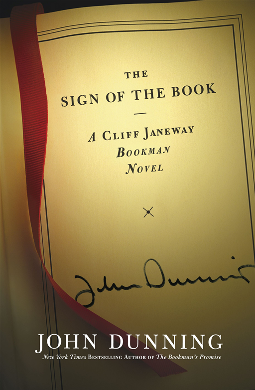 The Sign of the Book By: John Dunning