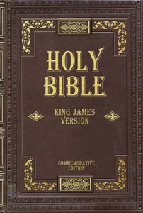 The Holy Bible- King James version By: various