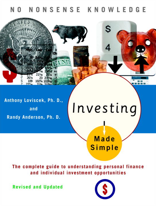 Investing Made Simple By: Anthony Loviscek,Randy Anderson