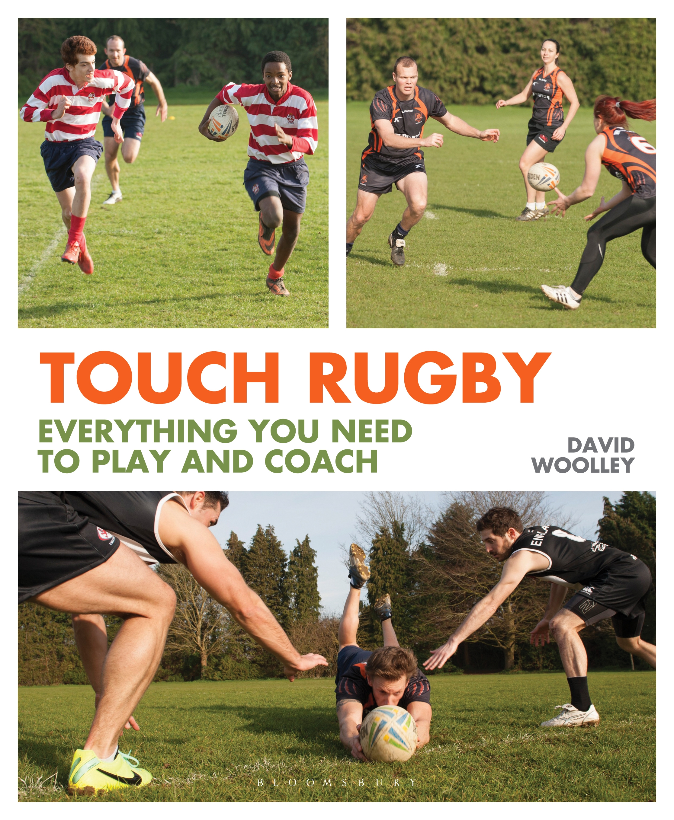 Touch Rugby Everything You Need to Play and Coach