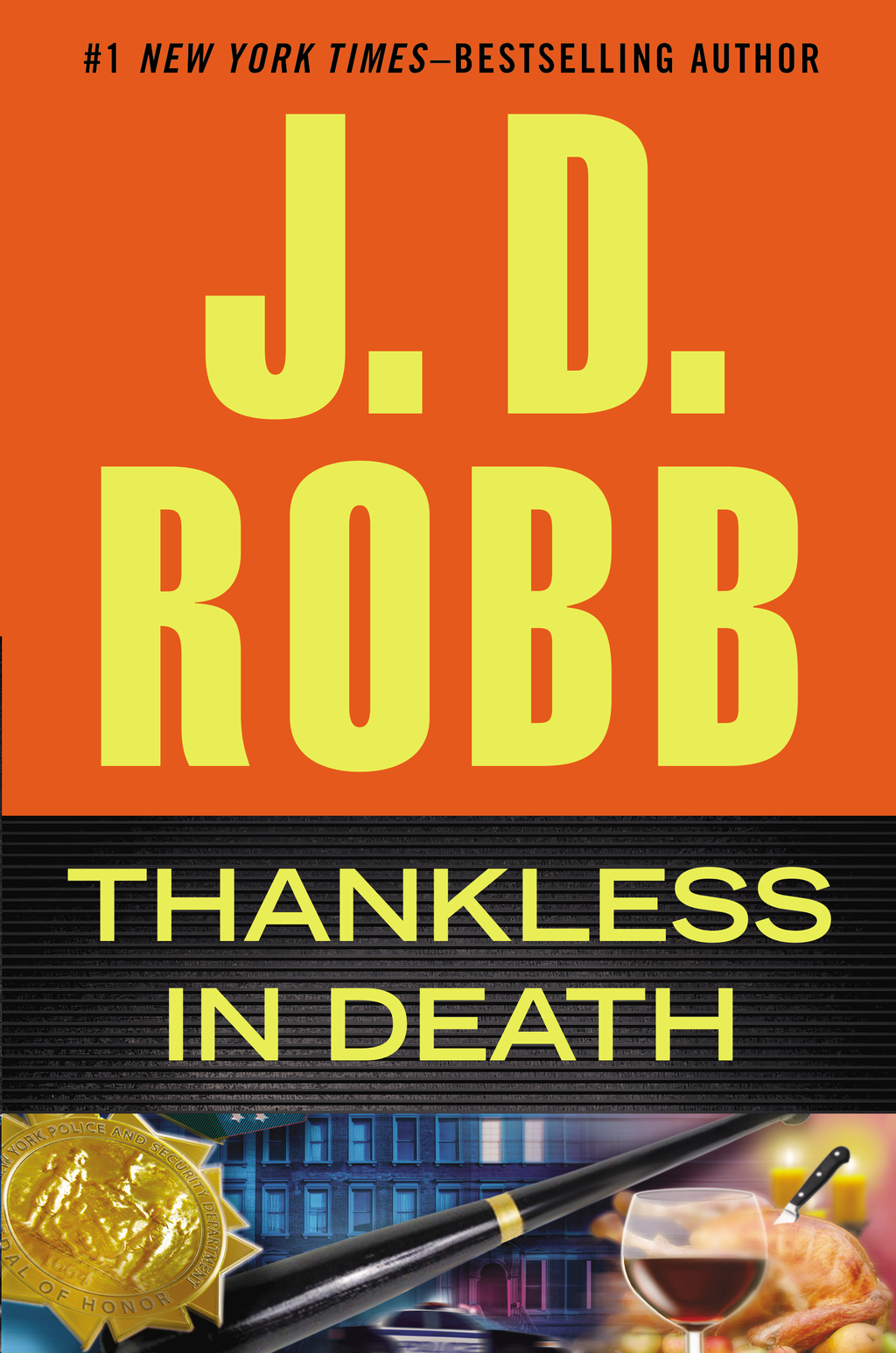 Book Cover: Thankless in Death