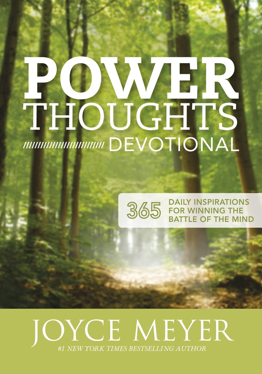 Power Thoughts Devotional 365 daily inspirations for winning the battle of your mind