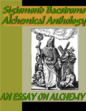Sigismond Bacstroms Alchemical Anthology - An Essay On Alchemy