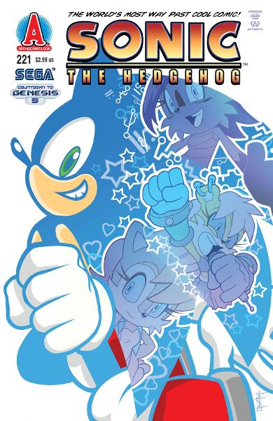 Sonic #221 By: Ian Flynn, Ben Bates, James Fry, Terry Austin, John Workman, Matt Herms