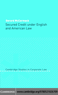 Secured Credit English American Law