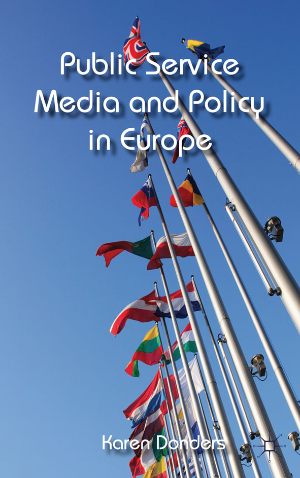 Public Service Media and Policy in Europe