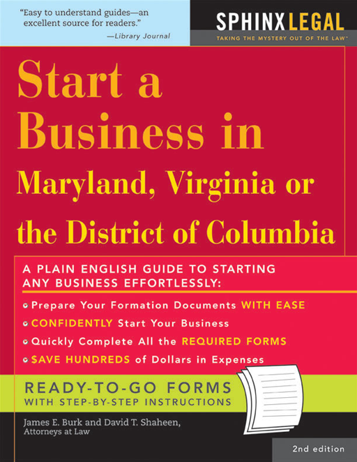 Start a Business in Maryland, Virginia, or the District of Columbia