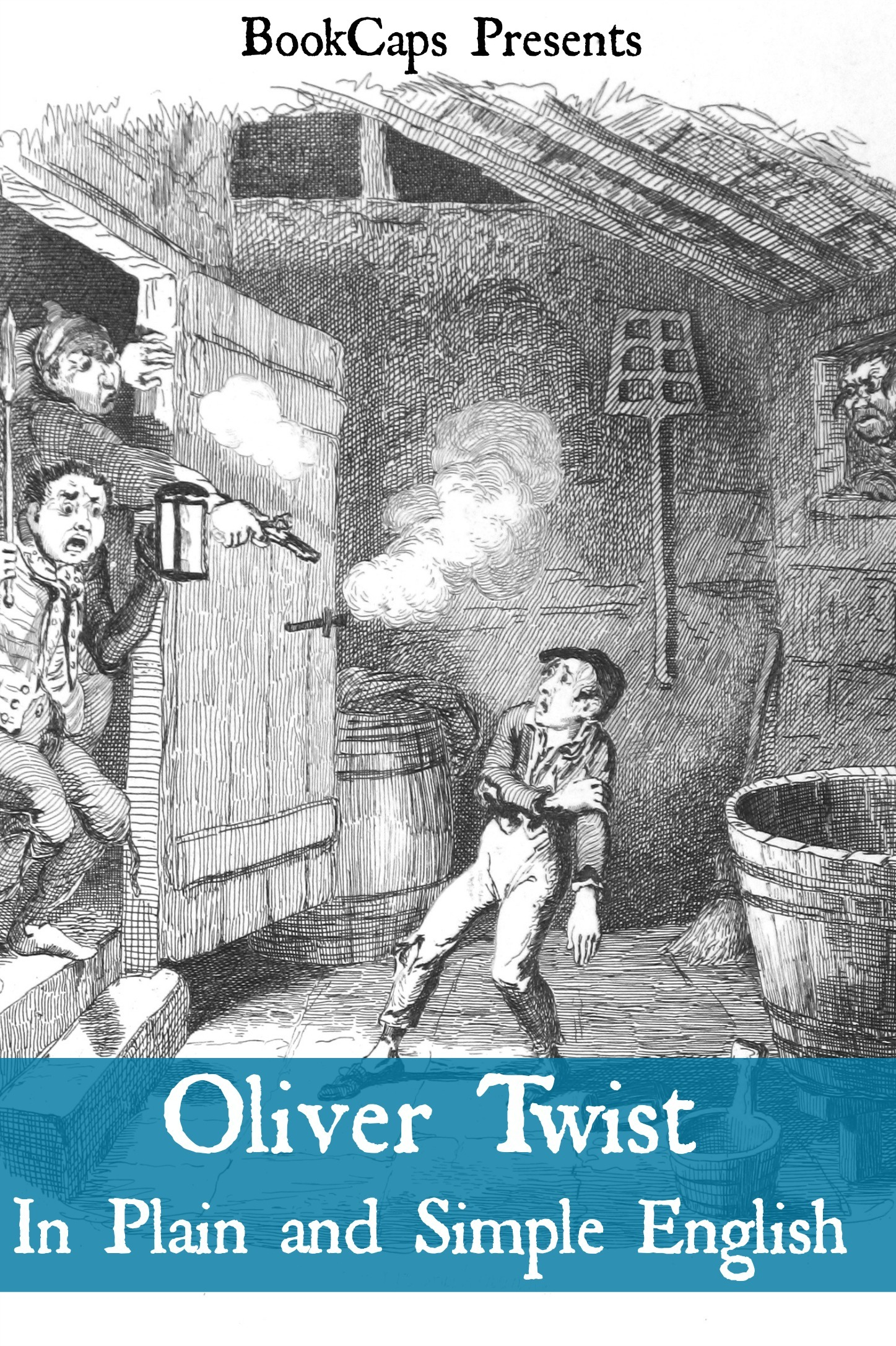 Oliver Twist In Plain and Simple English (Includes Study Guide, Complete Unabridged Book, Historical Context, Biography and Character Index)(Annotated)