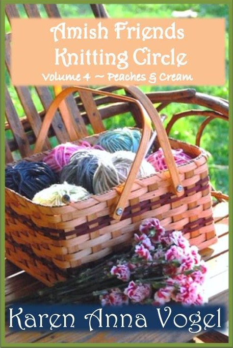 Amish Friends Knitting Circle - Volume 4 - Peaches & Cream By: Karen Anna Vogel